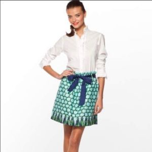 Lilly Pulitzer Macrame Me Print Avery Skirt Size S